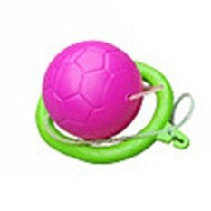 เด็ก Skip Ball รถของเล่นชนิดกระโดดได้และมีไฟเดรสลาย Funny Swing ลูก Great เกมฟิตเนสหญิงและชายสี: สีชมพู - Intl By Super Star Mall.