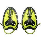 ทบทวน Kids Teenagers Professional Silicone Swim Training Hand Power Paddles With Adjustable Strap For Beginners Athlete Improving Stroke Skills Yellow Intl