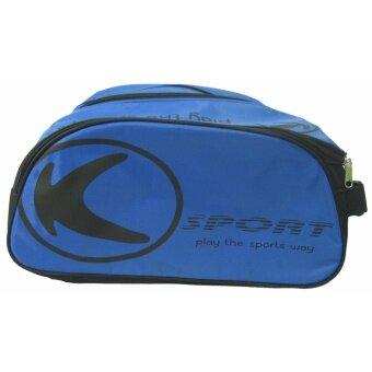 กระเป๋าใส่รองเท้า กระเป๋าใส่อุปกรณ์กีฬา KIKA KB-012 น้ำเงินดำ