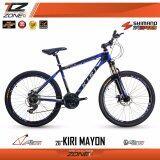 ขาย Kiri จักรยานเสือภูเขา อลูมิเนียม 26 นิ้ว เกียร์ Shimano 24 สปีด รุ่น Mayon สีดำ น้ำเงิน ผู้ค้าส่ง