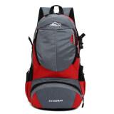 โปรโมชั่น กระเป๋าเป้สะพายหลังไนลอนวินเทจกลางแจ้งเดินป่า สีแดง Intl