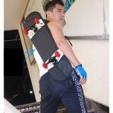 ราคา กระเป๋าสเก็ตบอร์ดสีดำ Skateboard Bag Black ขนาด 81 21 Cm ใหม่