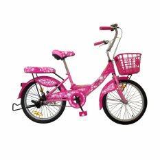 โปรโมชั่น La Bicycle จักรยาน รุ่น24 Hello Kitty สีชมพู ใน ไทย