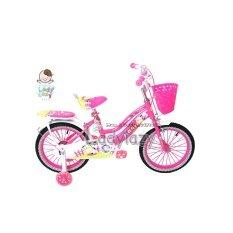 ขาย Ladylazyจักรยานเด็กลายวัวน้อยน่ารัก 12 No Fa210 สีชมพู Generic ผู้ค้าส่ง