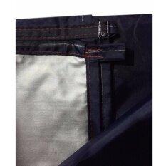 ซื้อ Laeninn ผ้าร่ม ผ้าใบกันแดด 3X4 เมตร กันฝน กันแดด กันฝุ่น น้ำหนักเบา รุ่นพิเศษเคลือบUv สีกรม