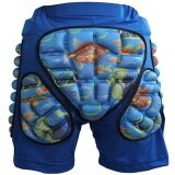 ซื้อ Lan Yu Kids Boys Girls 3D Protection Hip Eva Paded Short Pants Protective Gear Guard Pad Ski Skiing Skating Snowboard Blue M Hign Quality Intl ออนไลน์ จีน