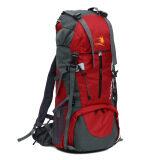 ราคา Large Capacity Waterproof Nylon Backpack Mountaineering Red ใน จีน