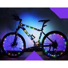ขาย นำแสงสำหรับจักรยานส่องแสงไฟสำหรับขี่จักรยานที่มีสีสันไฟจักรยาน นานาชาติ No Brand เป็นต้นฉบับ