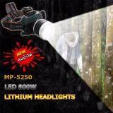ทบทวน ไฟฉายคาดศีรษะ Led รุ่น Mp 5250 800 วัตต์ กันน้ำได้ แสงสีขาว Unbranded Generic