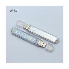 หลอดไฟ Led สว่างเหมือนกลางวัน USB Mini Led 8K สีขาว (1 อัน )