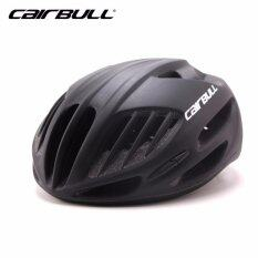 โปรโมชั่น Lee Bicyce 2017 แบบใหม่ หมวกจักรยาน รุ่น Cairbull ดำด้าน Size:m L 54 61Cm Leebicycle
