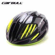 ราคา Lee Bicycle 2017 แบบใหม่ หมวกจักรยาน รุ่น Cairbull (ดำเงา)Size:m L 54 61Cm ไทย