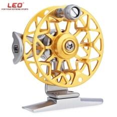 ส่วนลด Leo He50 โลหะอะลูมิเนียมเจือด้วยมือขวาอุลตร้าไลท์รอกตกปลาก่อนบิน ทอง Leo