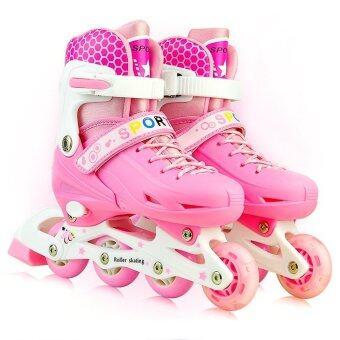 รองเท้าสเก็ต รุ่น Let's cool ไซด์ 34-37M (สีชมพู)