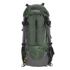 ซื้อ Lixada 50L Water Resistant Outdoor Sport Hiking Camping Travel Backpack Pack Mountaineering Climbing Backpacking Trekking Bag Knapsack With Rain Cover Intl ใหม่