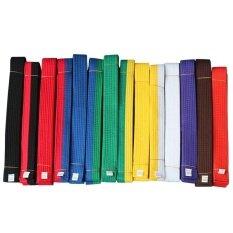 ราคา Lls 2 2M Judo Taekwondo Karate Tai Chi Colorful Ribbon Belt Fashionaccessory Solid Rank Karate Martial Arts And Taekwondobelts 2 2M Wfhite Intl ใหม่