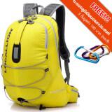 ซื้อ Local Lion เป้สะพายหลัง Backpack กันน้ำ 20L รุ่น 451 สีเหลือง ฟรีตะขออลูมิเนียมอเนกประสงค์ 3 ชิ้นมูลค่า 190 บาท ถูก Thailand