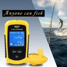 ขาย Lucky Wireless Sonar Fish Finder 40M Depth Water Proof Fish Detector Ffw1108 1 Yellow Black Uk Intl Lucky ออนไลน์