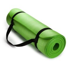 Luowan 1Cm Extra Thick Yoga And Exercise Mat With Carrying Strap Intl ใน จีน