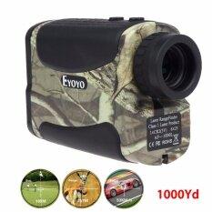 ราคา Lwentian Eyoyo 6X1000Yd Laser Range Finder Golf Distance Meter Speed Measurer Flagpole Intl เป็นต้นฉบับ