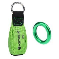 Magideal 250G Tree Rigging Arborist Throw Weight 22Kn Rappel Ring Bail Out Connector Intl เป็นต้นฉบับ