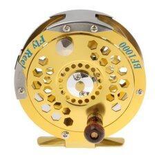 ขาย ซื้อ ออนไลน์ Magideal Aluminium Fly Fishing Reel Spinning 7 8 Fly Fish Line Wheel Tackle Gold Intl