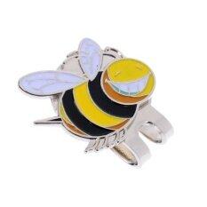 <p>magideal แม็กเนทรูปผึ้งน้อย สำหรับมาร์คตำแหน่งลูกกอล์ฟ พร้อมคลิปหนีบติดปีกหมวกได้</p>.