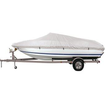 MagiDeal Universal 20ft to 22ft Length Trailer Fishing Ski Boat Cover Waterproof Grey - intl