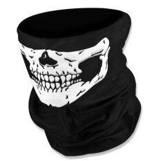 Mask หน้ากาก กันฝุ่น มอเตอร์ไซด์ จักรยาน สีดำ ลายกระโหลก 004 Skull Bike Motorcycle By Giftshop.