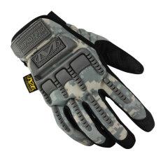 ราคา Mechanix Men Gloves Wear M Pact Military Tactical Army Motocycle Bicycle Shooting Gloves Acu ใน Thailand