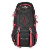 ส่วนลด Men Women 50L Large Capacity Outdoor Sports Mountaineering Backpack Hiking Trekking Travel Bag Knapsack Intl