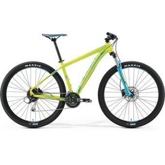 Merida MTB Big.Seven 100 Bicycle สีเขียวมะนาวฟ้า