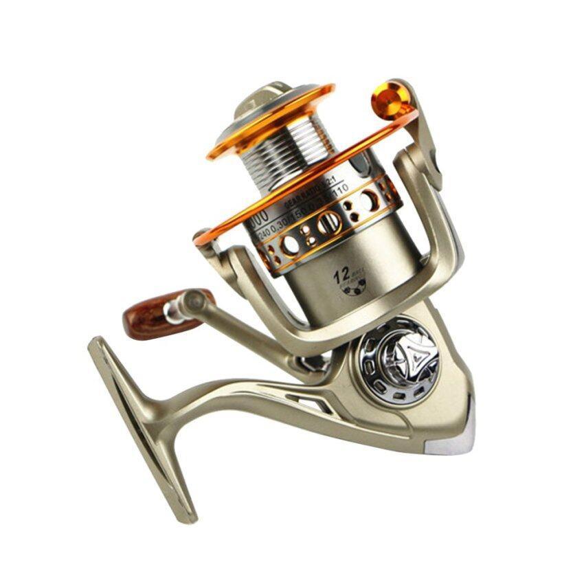 โลหะรอกม้วนตกปลาแบริ่ง 12 แบริ่งสำหรับตกปลา LC7000