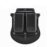 ซื้อ Military Tactical Holster Rh Paddle Gl2 For G17 19 22 23 31 32 34 35 Black Double Magazine Pouch 6900 Intl