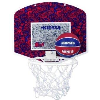 ชุดแป้นบาสเก็ตบอลรุ่น MINI B (สีแดง/น้ำเงิน)