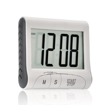 Mini LCD Home Kitchen Cooking Countdown Count Up Digital Alarm Timer Reminder with Stand
