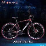 ขาย Mir จักรยานไฮบริด 700C ตัวถัง อลูมิเนียม ไซส์ 49 เกียร์ Shimano 24 สปีด รุ่น Omicron สีแดง ดำ Mir ออนไลน์