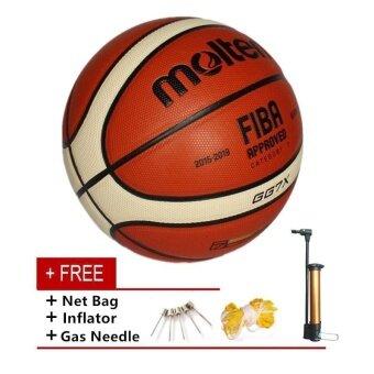 Molten GG7X ในร่มกลางแจ้ง PU หนังบาสเก็ตบอลอย่างเป็นทางการขนาด 7 ลูกบาสเก็ตบอล PU การฝึกซ้อมอุปกรณ์ GG7X