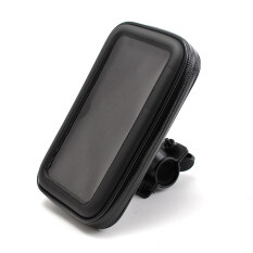 Motorcycle Bike Handlebar Holder Mount Waterproof Bag Case For Mobile Phone Gps Intl จีน