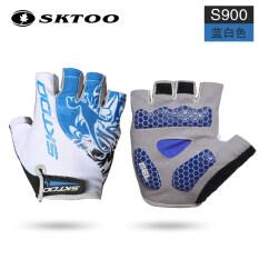 ราคา ครึ่งนิ้วสำหรับผู้ชายและผู้หญิงขี่ Mtb ขี่ถุงมือจักรยานถุงมือ Sahoo ออนไลน์