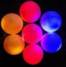 Multi - สีไฟมีไฟกระพิบ Led อิเล็กทรอนิกส์ลูกกอล์ฟ Night กอล์ฟ - Intl.