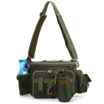 Multifunctional เย้ายวนใจเอวกระเป๋าแพ็คเก็จกระเป๋าตกปลา-นานาชาติ
