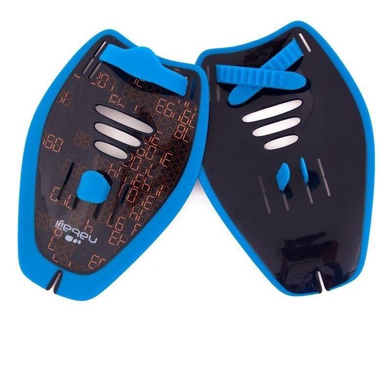 Nabaiji มือพายสำหรับว่ายน้ำ ขนาด M (สีฟ้า)