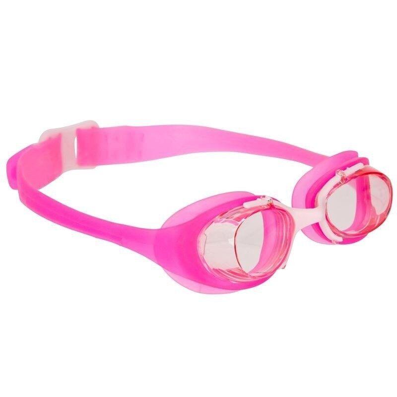 Nabaiji แว่นตาว่ายน้ำ XBASE JUNIOR (สีชมพู) มาตราฐานยุโรป