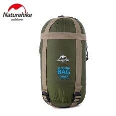 Naturehike 320D ไนลอนถุงนอนกระสอบสำหรับ Outdoor Camping 190 X 75 เซนติเมตร Army Green จีน