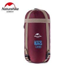 ขาย Naturehike 320D Nylon Sleeping Bag Sack For Outdoor Camping 190 X 75Cm Wine Red Intl Naturehike เป็นต้นฉบับ