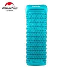 ซื้อ Naturehike 585G Sleeping Pad Outdoor Inflatable Cushion Sleeping Bag Mat Fast Filling Air Moisture Proof Camping Mat With Pillow Intl จีน