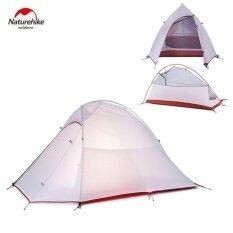 ราคา Naturehike Nh15T002 T 20D 380T Silicone Double Layer Waterp Resistant Camping Hiking Tent Tool For 2 Persons Intl Naturehike เป็นต้นฉบับ