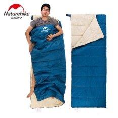 ส่วนลด Naturehike กันน้ำกลางแจ้ง 210 ครั้งตารางผ้าถุงนอนชนิดซองจดหมาย 8 กิโลกรัม 190 เซนติเมตร X 75 เซนติเมตร สีฟ้าสีเขียวสีม่วง Naturehike จีน