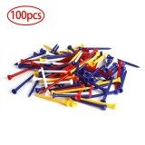 ขาย ซื้อ New 83Mm Outdoor Sport 100Pcs Plastic Golf Tees Training Golf Accessories Intl จีน
